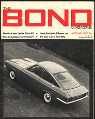 Bond magazine showing  Equipe 2-litre