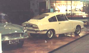 Bond GT4S & 2+2 cars at the 1964 Motorshow