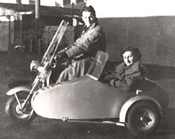 BAC Gazelle Scooter with sidecar
