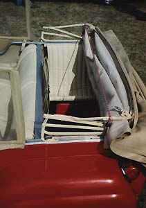 1958 Bond MkD Family model rear seats