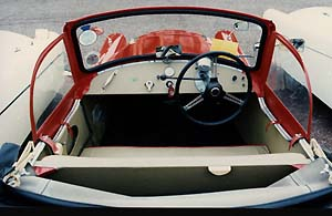 1957 Bond MkD Tourer interior