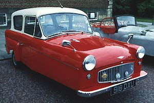 1962 Bond 250 G Saloon