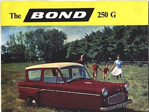 Bond 250 G sales brochure